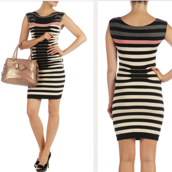 86688010542 Ted Baker Kitey striped knit sweater dress. M 5a7891a45521be15c5b0dbbd